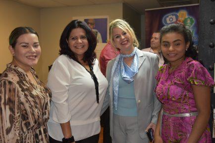 Andreza Moon, Margarette Mattos, Mila Lopes & Helena Martin
