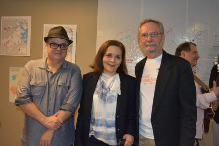 Jornalista Roberto Lima, Consul Glivânia Oliveira & Alvaro Lima