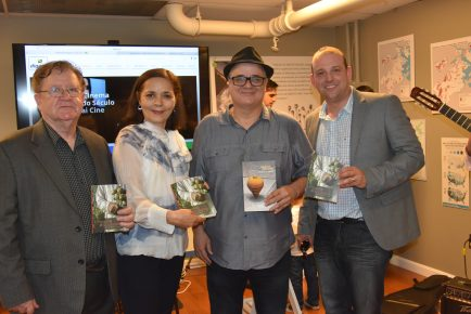 Jornalista Edirson Paiva, Consul Glivânia Oliveira, Jornalista Roberto Lima & Jornalista Alex Comlobini