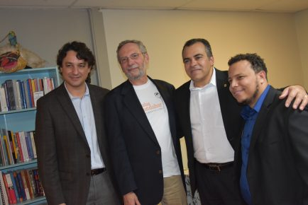 Massa Viana, Alvaro Lima, Carlos SIlva & Leandro Alves