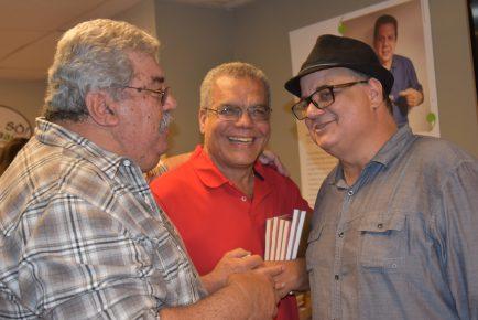 Alfredo Melo, Jorge Costa & Jornalista Roberto Lima