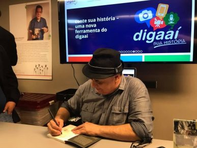 Jornalista Roberto Lima - Autógrafo - 3