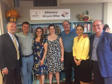 Alvaro Lima, Maurício Junior, Andrea Wiley, Katherine Wiley, Bruce Wiley, Consul Glivânia & Fernando Castro