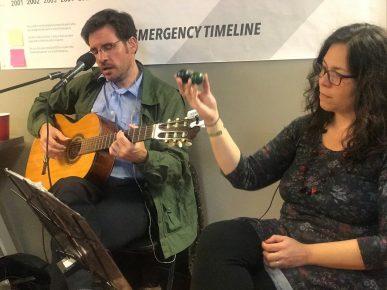Musicians - Anna Borges & Bill Ward