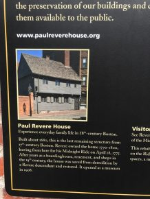North End - Paul Revere House - 1