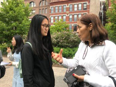 Savannah Wu & Brazilian Consul Glivânia Oliveira