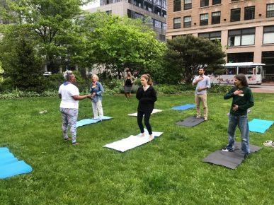 Yoga Class - Nicole Flynt - 1