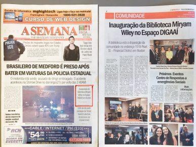 Matéria de Cobertura do Evento - Jornal A Semana