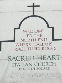 North End - Sacred Heart Italian Church - 1