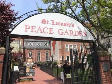 North End - Peace Garden
