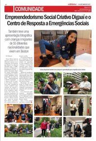 Cobertura do Jornal A Semana