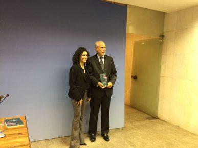 Lancamento do Livro no Itamarati - Alanni Castro &  Embaixador Henrique Sardinha