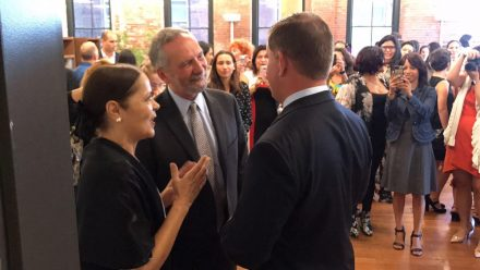 Embaixadora Glivânia, Alvaro lima & Prefeito Walsh