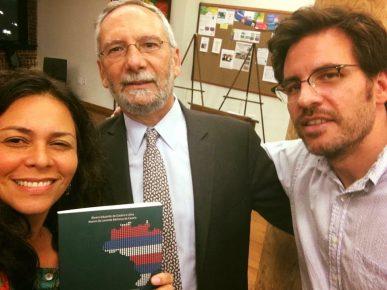 Anna Borges, Alvaro Lima & Bill Ward