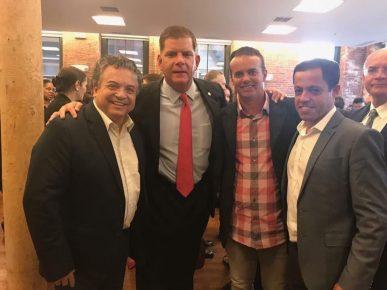 Deputado, Prefeito Walsh, Palhinha e Renato